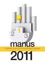 Anwendungen manus® 2011 (PDF) - Igus
