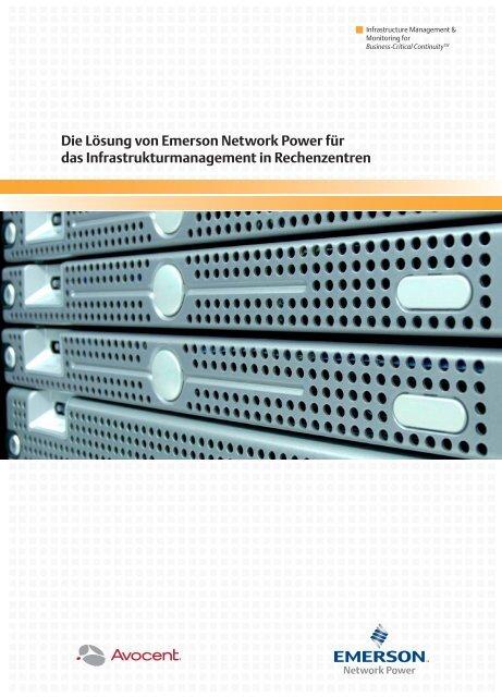 PDF - Lösungen für das Infrastrukturmanagement in Rechenzentren