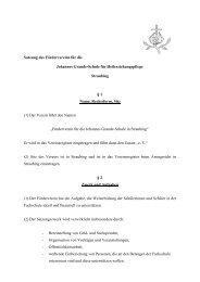 Satzung des Fördervereins für die - Barmherzigen Brüder Straubing