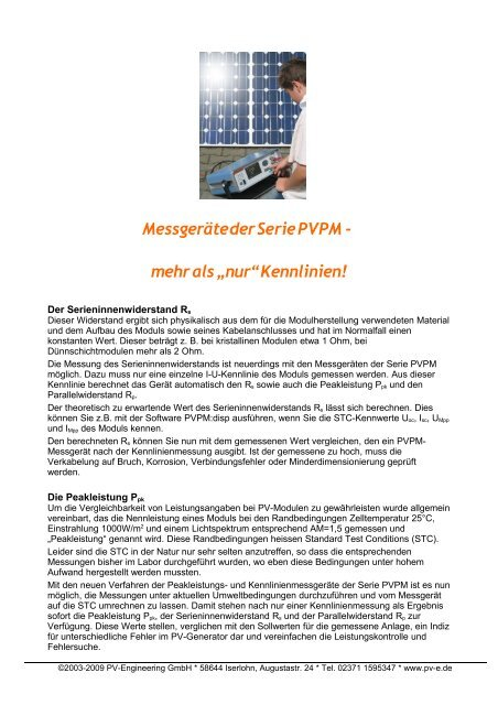 download - PV-Engineering GmbH