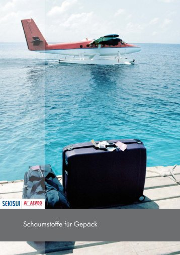 Schaumstoffe für Gepäck - Sekisui Alveo AG