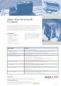 Schaumstoffe für Gepäck - Sekisui Alveo AG - Seite 2