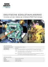 PDF deutsch - SMS Meer GmbH