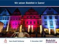 Bielefeld - und Stadtmarketing Deutschland eV