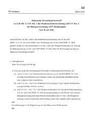 Allgemeine Verwaltungsvorschrift zu § 40 Abs. 2, § 95 Abs. 3 der ...