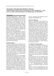 Swiss Stock COVA Index - Covasys Wyttenbach & Zenger