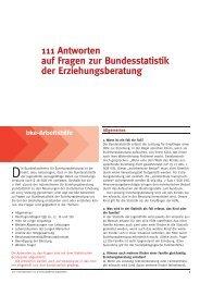 Häufig gestellte Fragen zur Bundesstatistik - Bundeskonferenz für ...
