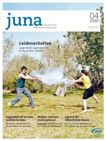 Leidenschaften - Bayerischer Jugendring