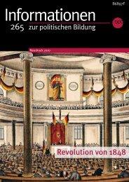 Revolution von 1848 - Bundeszentrale für politische Bildung