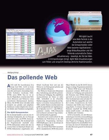 Das pollende Web