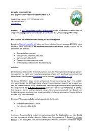 Rundschreiben IX - BSSB