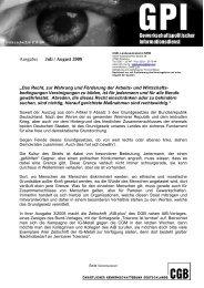 Ausgabe: Juli / August 2008 - CGM
