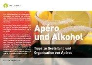 Apero und Alkohol - ags