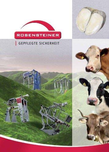 Gesamtprospekt Klauenpflegestände - Hagmann + Hug AG