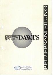 Betriebsanleitung Novomatic Classic Dart (ND44)