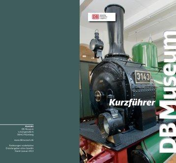 Kurzführer DB Museum Nürnberg