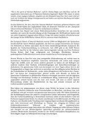 Bericht der Teilnehmer der ESIM Winter School 2013 - Deutsche ...