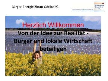 Bürger-Energie Zittau-Görlitz eG - DGRV