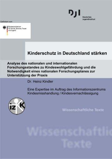 Kinderschutz in Deutschland stärken - Deutsches Jugendinstitut e.V.