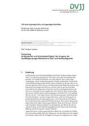 Landau Festvortrag - Deutsche Vereinigung für Jugendgerichte und ...