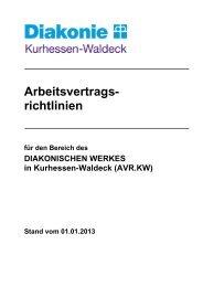 AVR.KW - Diakonisches Werk in Kurhessen-Waldeck