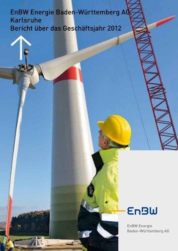 Jahresabschluss EnBW AG 2012 (1,3 MB ) PDF