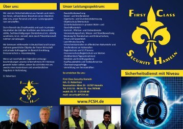 Ermittlungen/Observationen - Fcsh.de