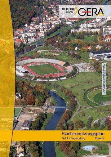 [1] FNP 2020 Gera - Teil A - Begründung - Stadt Gera
