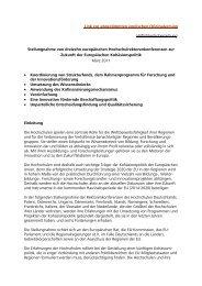 konferenzen zur Zukunft der Europäischen Kohäsionspolitik, 1. März ...