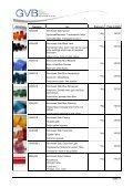 Produktinformation & Preise Stäbe & Granulate - GVB - Page 4