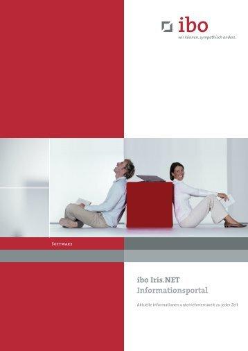ibo Iris.NET Informationsportal - Ibo Software GmbH