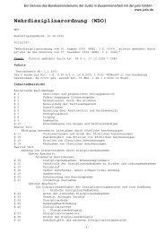 Wehrdisziplinarordnung (WDO) - ICRC