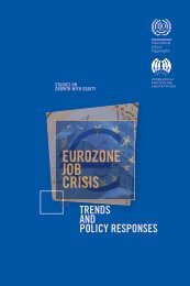 EuroZone job crisis - International Labour Organization
