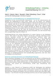 Wirbelkörperfraktur - Initiative - International Osteoporosis Foundation