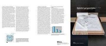 Leitfaden zu den innovativen Bettsystemen von WILLL