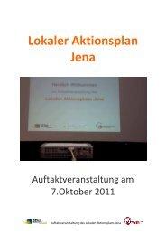 Doku Auftakt LAP - Demokratischer Jugendring Jena