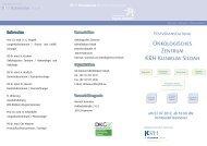 Onkologisches Zentrum KRH Klinikum Siloah - Klinikum Region ...