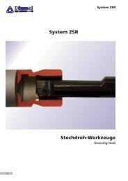 Stechdreh-Werkzeuge System ZSR - Kromer GmbH