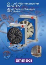 Öl - Luft Wärmetauscher Serie HPV - EMMEGI GmbH