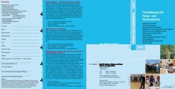 Flyer Fortbildungen 2013 mit Anmeldeformular ... - Stadt Lahr
