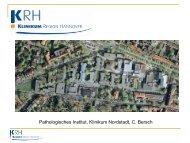 Pathologisches Institut, Klinikum Nordstadt, C. Bersch - Klinikum ...