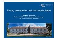 Reale, neurotische und strukturelle Angst (pdf)