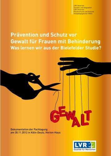 Prävention und Schutz vor Gewalt für Frauen mit Behinderung