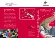 Ausbildung zur Altenpflegehelferin - Altenpflegeheim Maria Hilf