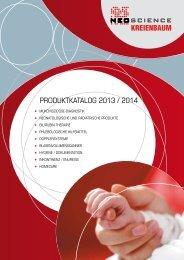 PRODUKTKATALOG 2013 / 2014 - Kreienbaum Neoscience GmbH