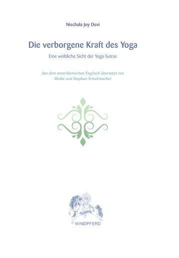 Die verborgene Kraft des Yoga - Sat Nam Versand