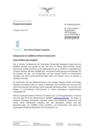 Presse-Information - PHOENIX Real Estate Development GmbH