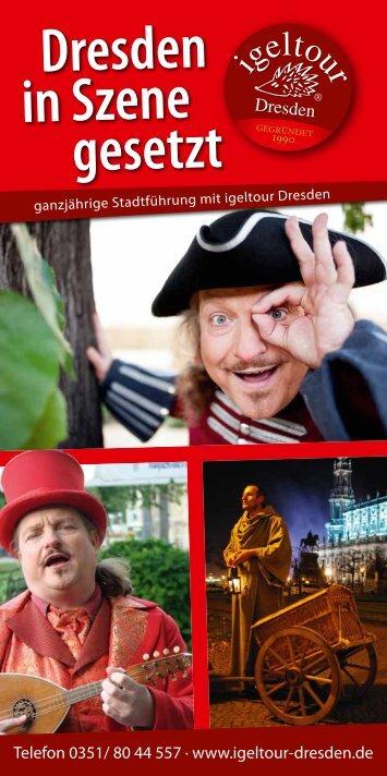 Dresden in Szene gesetzt - Igeltour Dresden