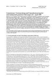 BMF-Schreiben vom 27. 8.2004 IV B 7