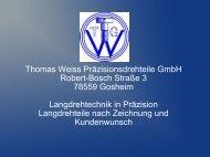 Firmenvorstellung als PDF(4,22MB) - Thomas Weiss ...